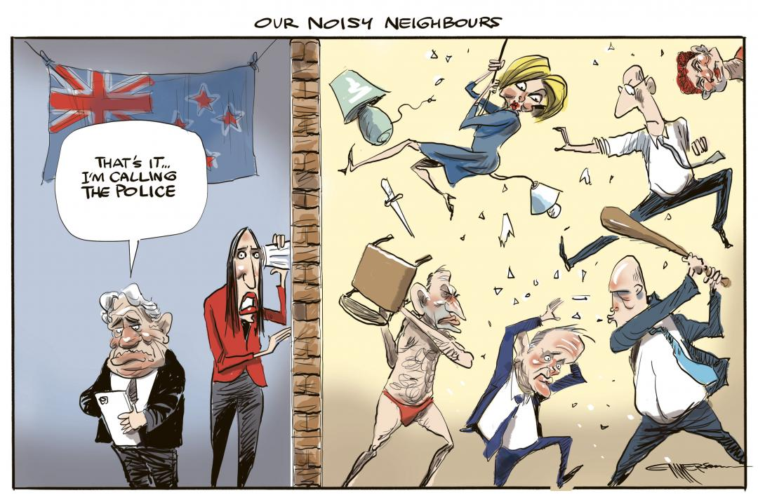Our Noisy Neighbours by Rod Emmerson
