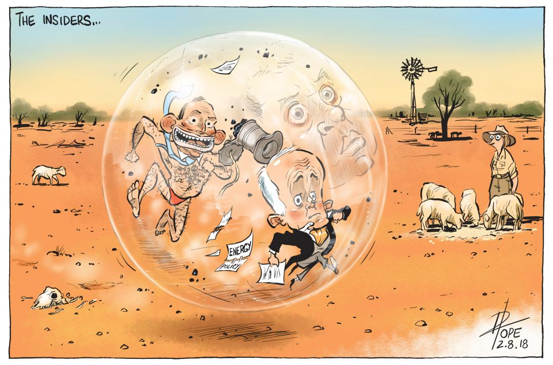 The Insiders by David Pope