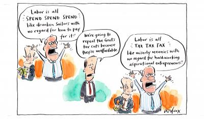 Labor is All by Cathy Wilcox