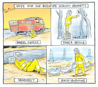 Uses for Another Bushfire Enquiry