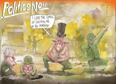 Politics Now #83 by David Rowe
