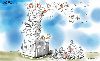 The Fiasco by Alan Moir