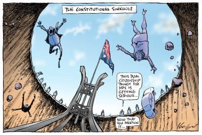 The Sinkhole by Mark Knight