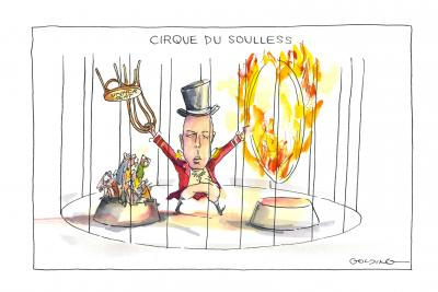 Cirque de soulless by Matt Golding