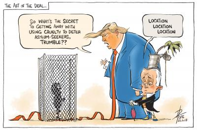 The Art of the Deal by David Pope