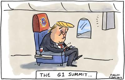 And All His Friends by Jon Kudelka