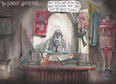 The Gender Whisperer by David Rowe