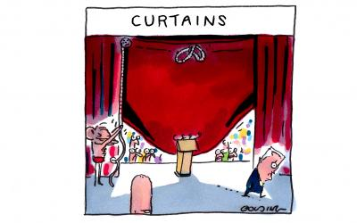 It's Curtains by Matt Golding